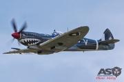 Mottys Flight of the Hurricane Scone 1 1825 Spitfire MkVIII VH-HET-001-ASO