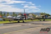 Mottys Flight of the Hurricane Scone 2 0236 Spitfire MkVIII VH-HET & Hurricane VH-JFW-001-ASO