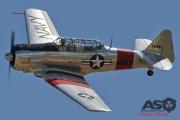 Mottys Flight of the Hurricane Scone 2 9428 T-6 Texan VH-HAJ-001-ASO
