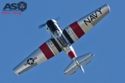 Mottys Flight of the Hurricane Scone 2 9328 T-6 Texan VH-HAJ-001-ASO