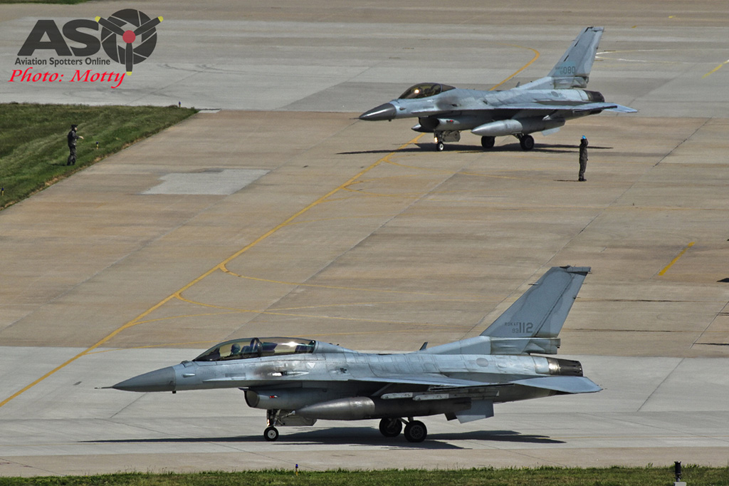 Mottys 111FS ROKAF KF-16 Kunsan 2015 0520