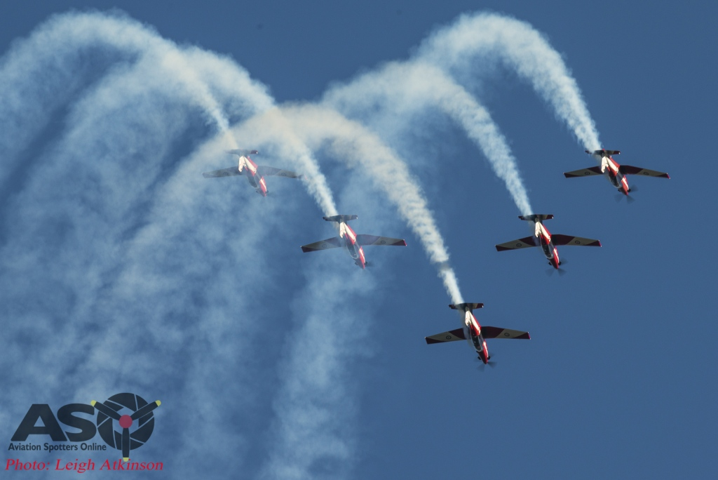 Roulettes PC-9 display at Avalon
