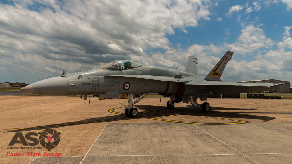 RAAF F/A-18A Hornet A21-18 2OCU
