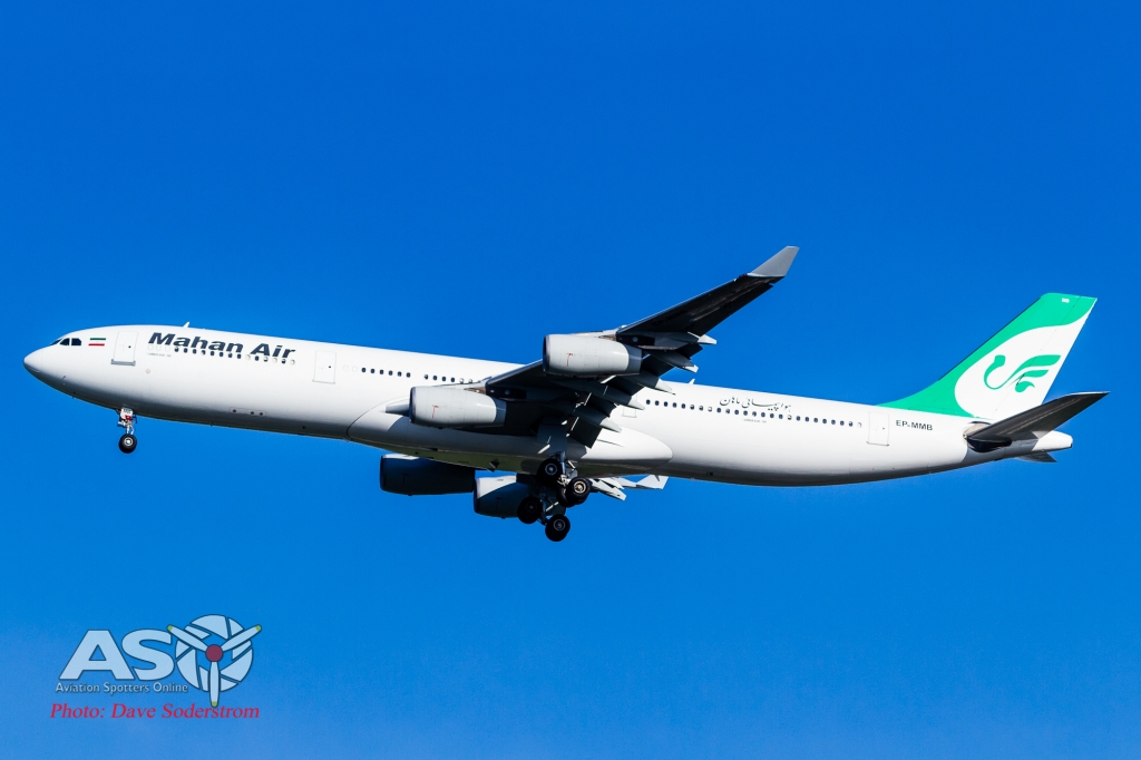 EP-MMB Mahan Air Airbus A340-300 ASO (1 of 1)