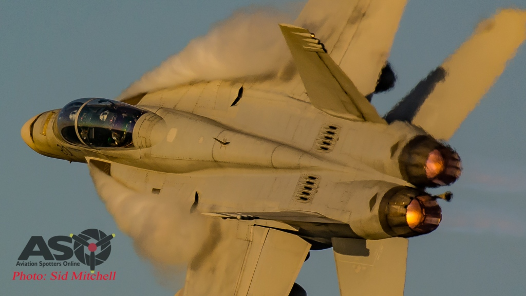 Sid- F/A-18F Sunset display