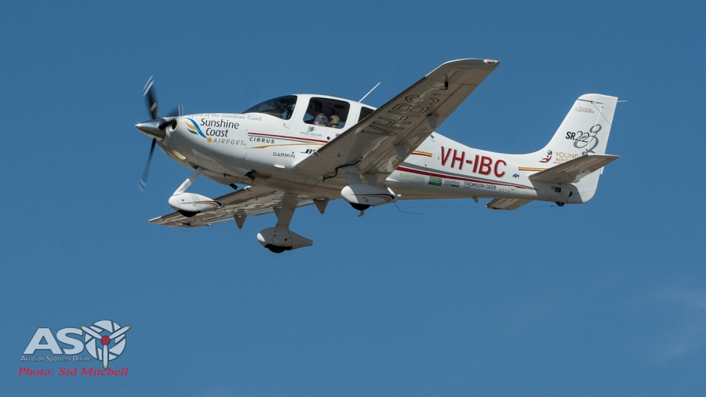 Cirrus SR22 flown solo around the world by Lachlan Smart