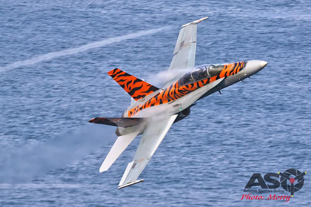 Mottys-2OCU 2019 Tiger Special FA-18B Hornet A21-116-00014-ASO