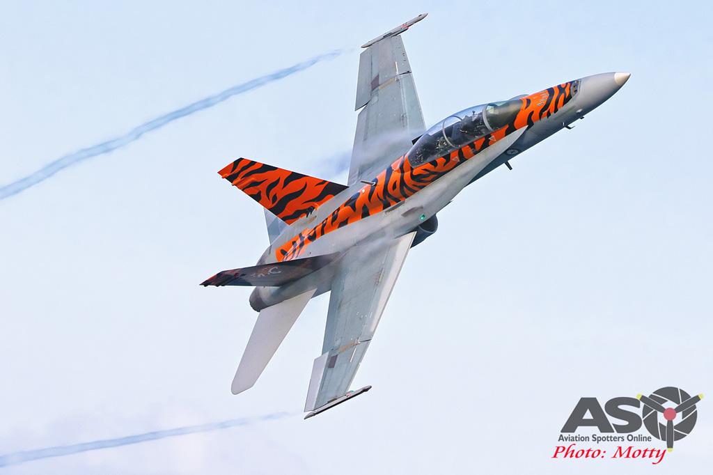 Mottys-2OCU 2019 Tiger Special FA-18B Hornet A21-116-00027-ASO