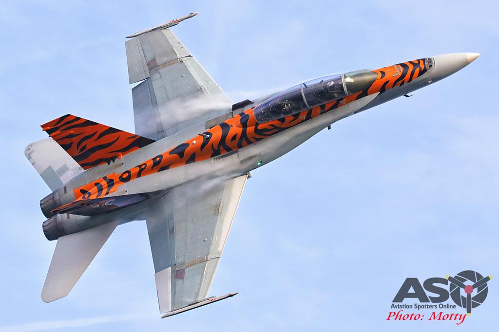 Mottys-2OCU 2019 Tiger Special FA-18B Hornet A21-116-00040-ASO