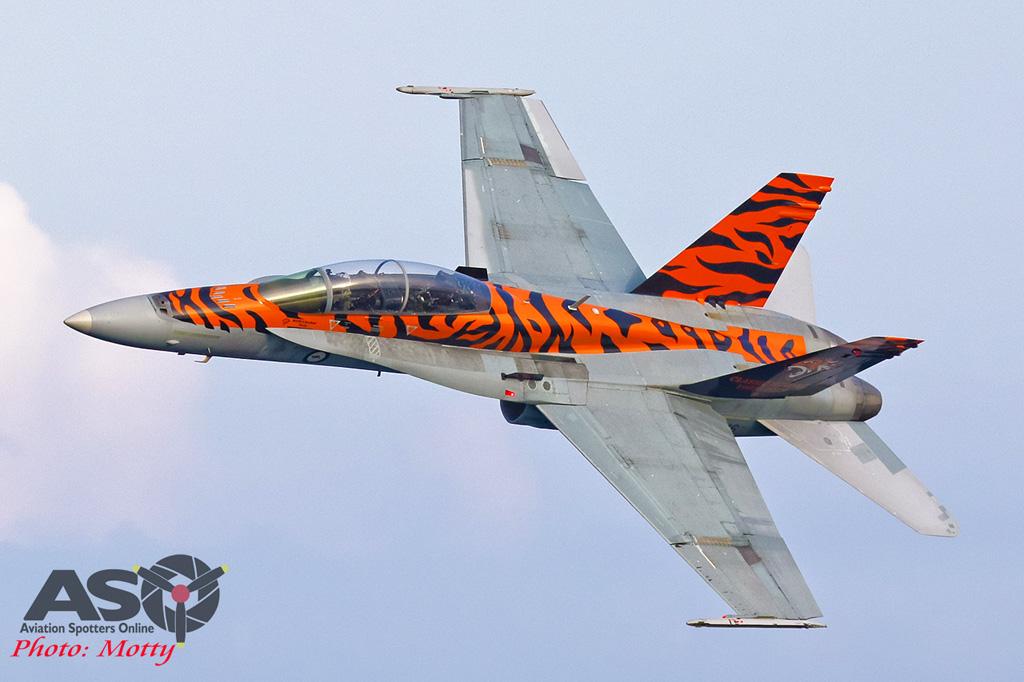 Mottys-2OCU 2019 Tiger Special FA-18B Hornet A21-116-00116-ASO
