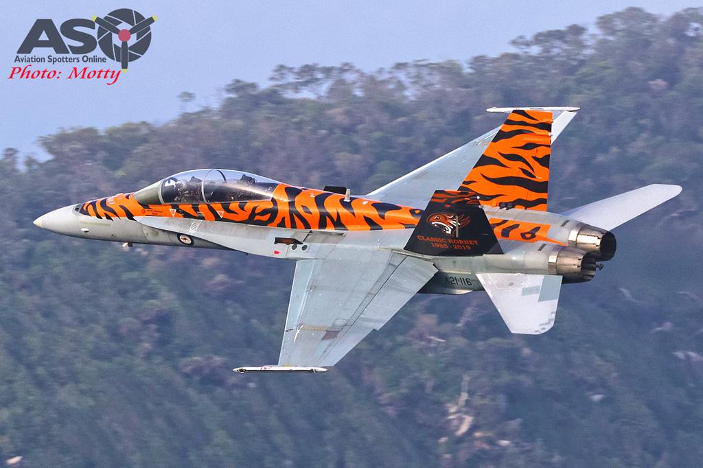 Mottys-2OCU 2019 Tiger Special FA-18B Hornet A21-116-00154-ASO