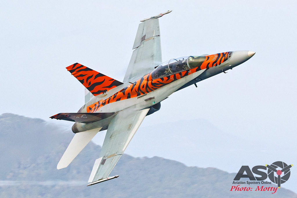 Mottys-2OCU 2019 Tiger Special FA-18B Hornet A21-116-00167-ASO