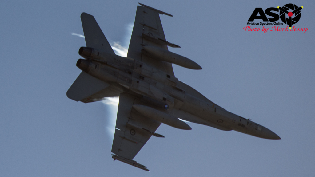 F-A-18A low level Western Airspace tank run-19