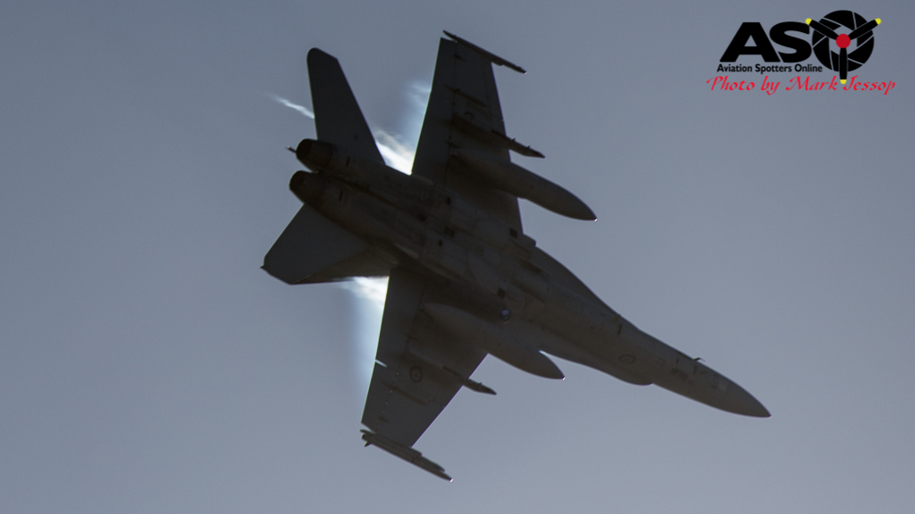 F-A-18A low level Western Airspace tank run-20
