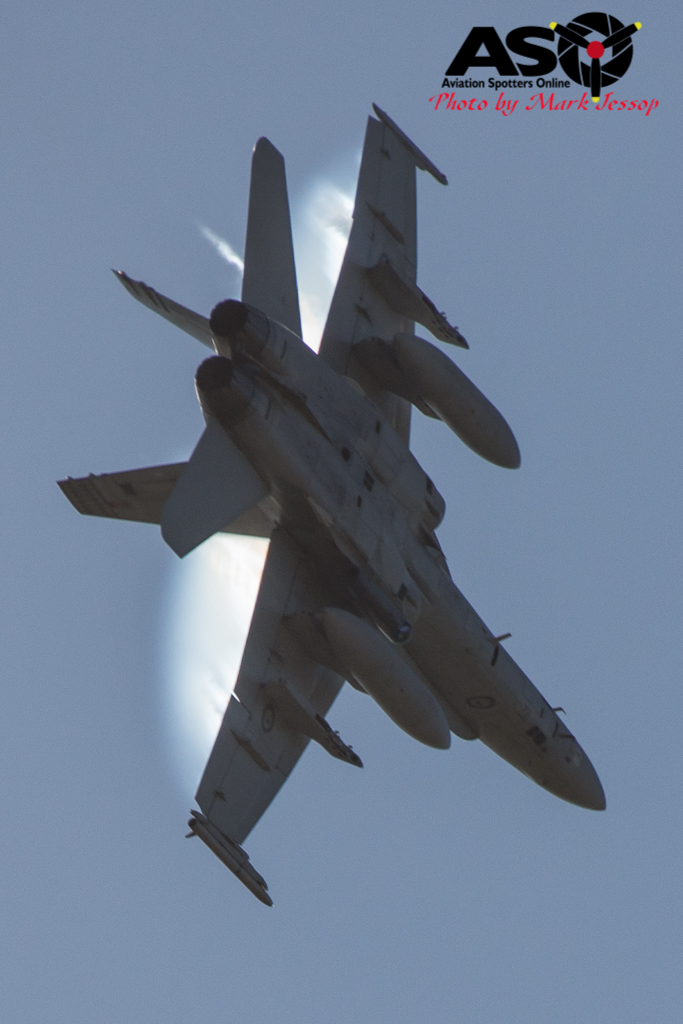 F-A-18A low level Western Airspace tank run-23