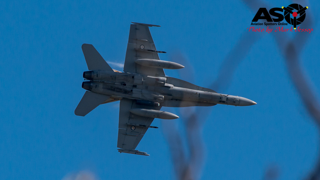 F-A-18A low level Western Airspace tank run-5