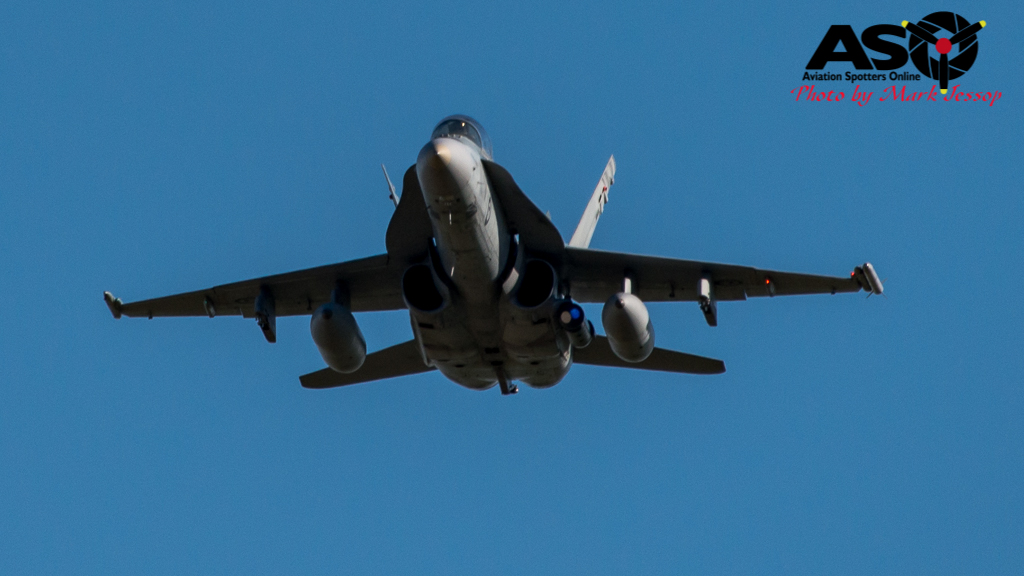F-A-18A low level Western Airspace tank run-8