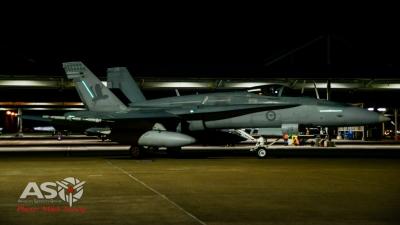 """RAAF F/A-18A Hornet A21-29 75SQN \""""Top Hat\"""" scheme"""