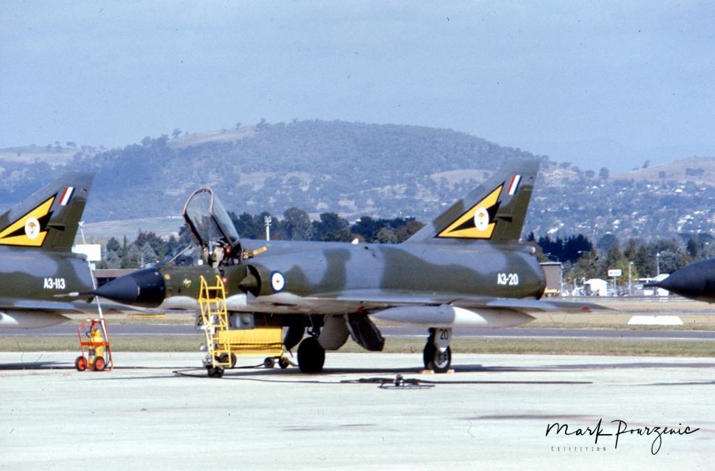Dassault Mirage III0  A3-20 RAAF  Base Fairbairn