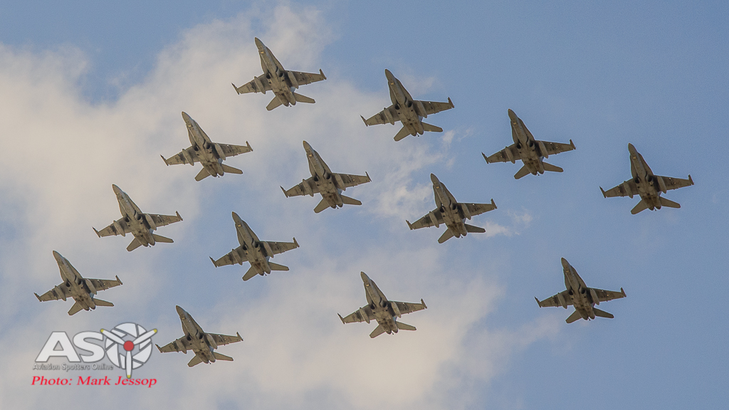 "2OCU ""Tiger Bird"" Formation 2015."