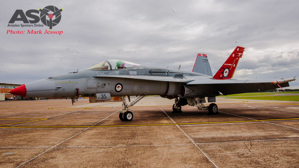 30th Anniversary Hornet A21-35 walk around-6993