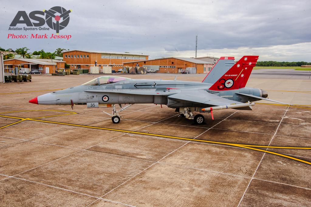 30th Anniversary Hornet A21-35 walk around-7013