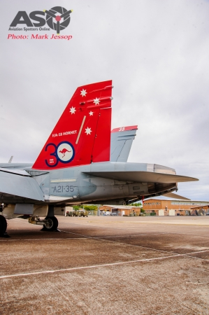 30th Anniversary Hornet A21-35 walk around-6998