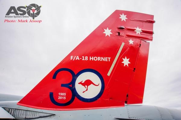 30th Anniversary Hornet A21-35 walk around-7023