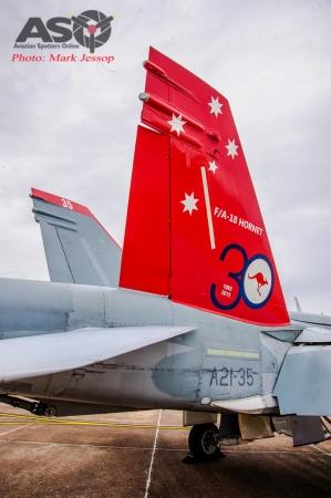 30th Anniversary Hornet A21-35 walk around-7028