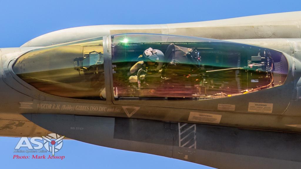 RAAF F/A-18A Hornet A21-3. 3SQN CO Bobby Gibbes Hornet.