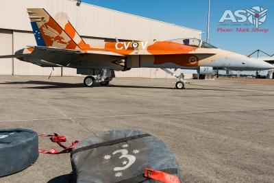 RAAF 3SQN F/A-18A Hornet 100th Anniversary scheme A21-27 RAAF Williamtown.
