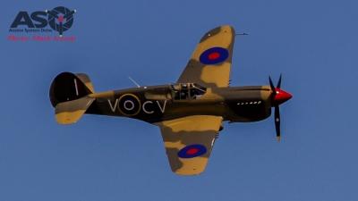 """P-40E CV-C 3SQN CO """"Bobby"""" Gibbes aircraft scheme"""