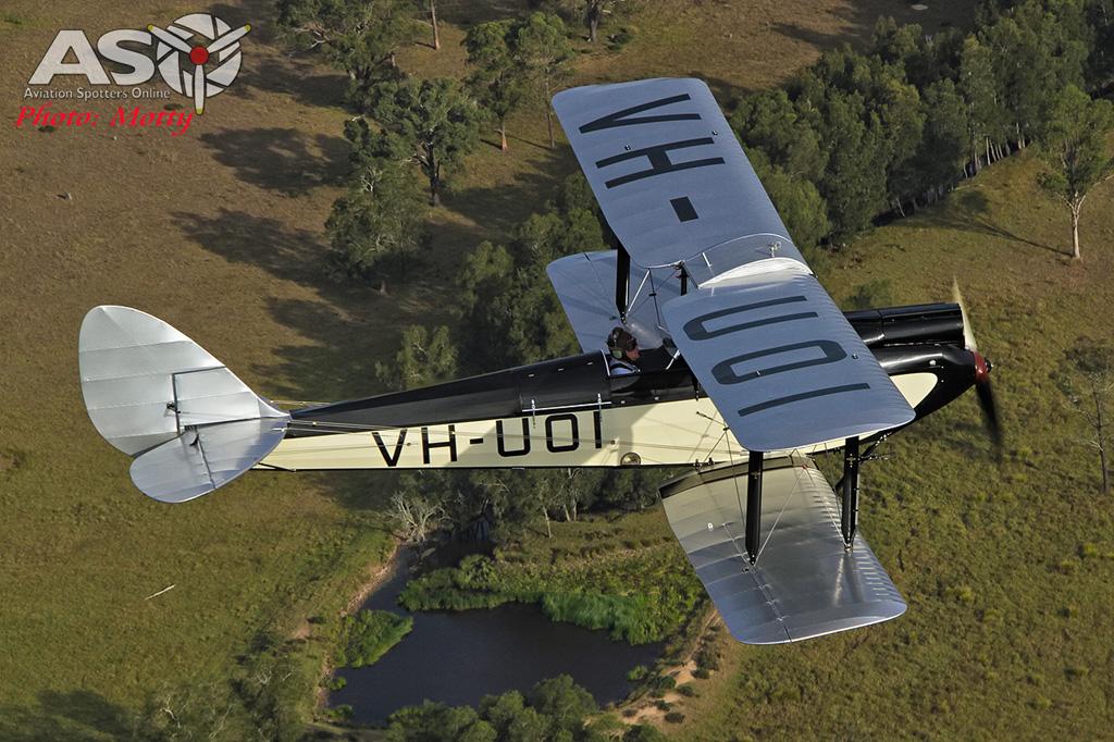 Mottys DH-60M Gipsymoth VH-UOI-008