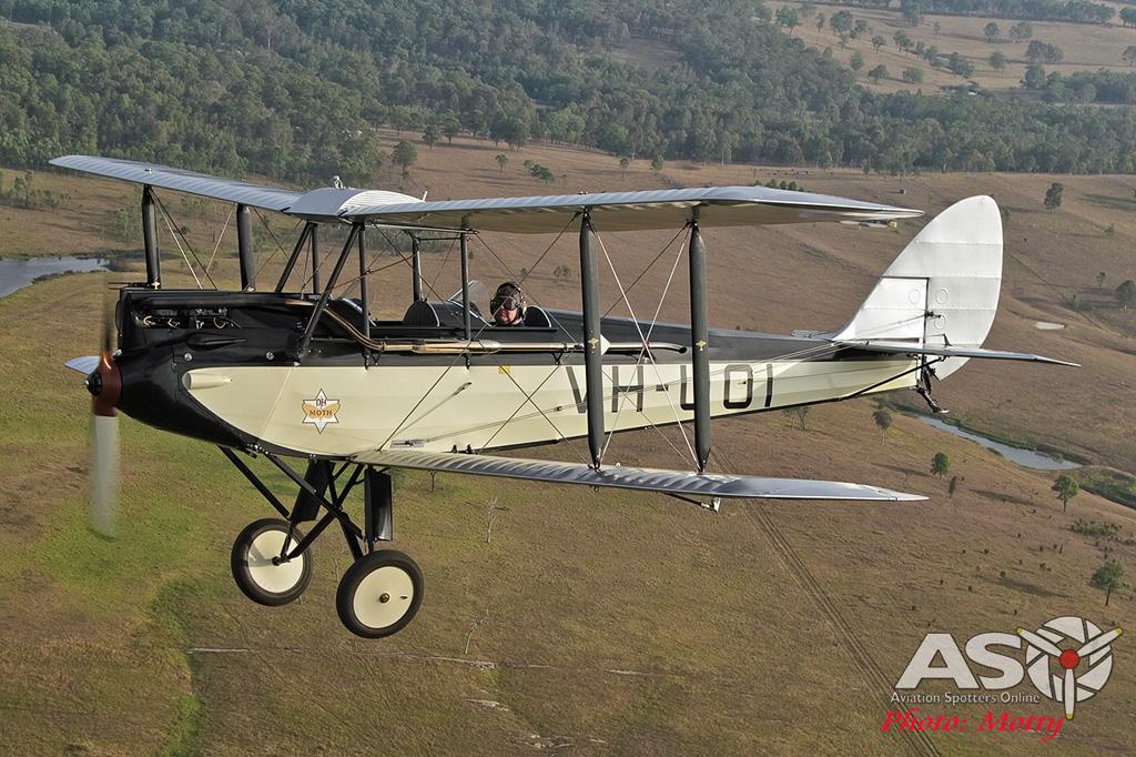 Mottys DH-60M Gipsymoth VH-UOI-043