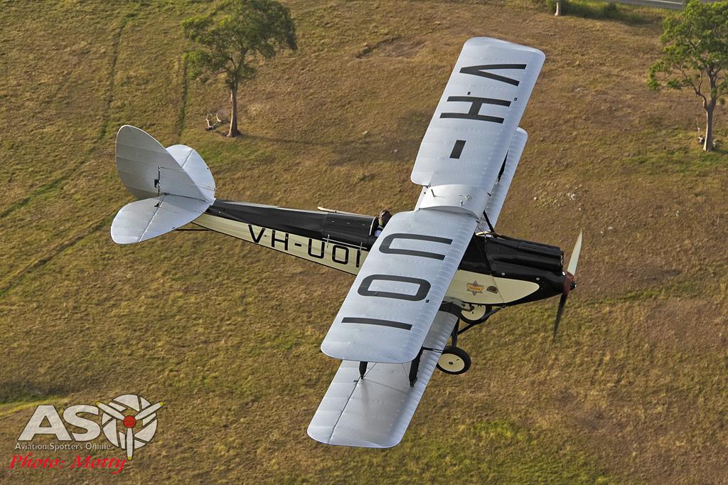 Mottys DH-60M Gipsymoth VH-UOI-045