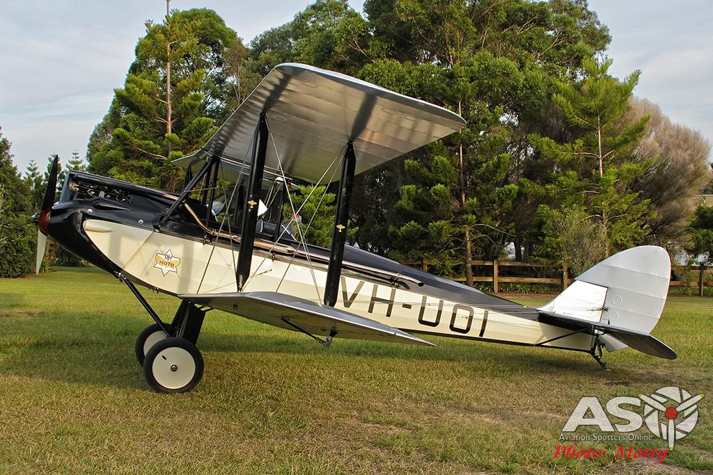 Mottys DH-60M Gipsymoth VH-UOI-077