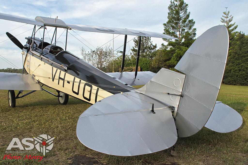 Mottys DH-60M Gipsymoth VH-UOI-081