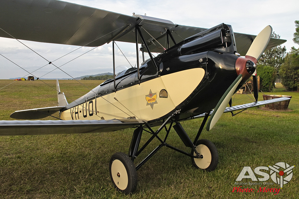 Mottys DH-60M Gipsymoth VH-UOI-100