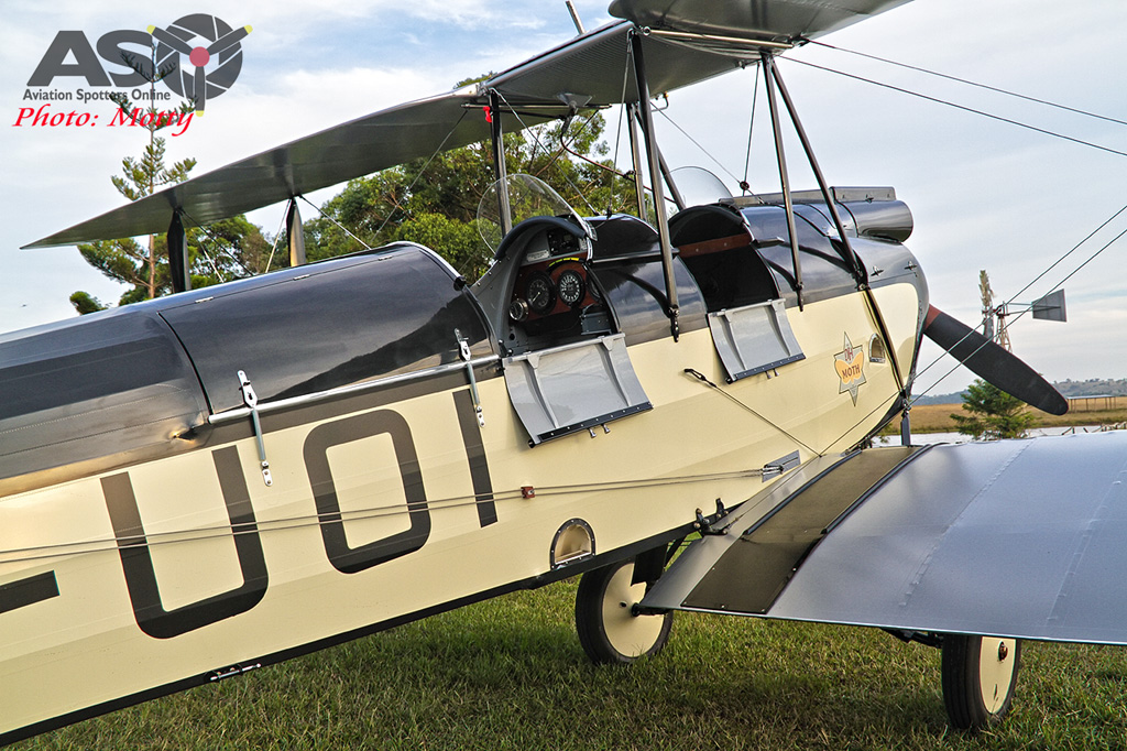 Mottys DH-60M Gipsymoth VH-UOI-110