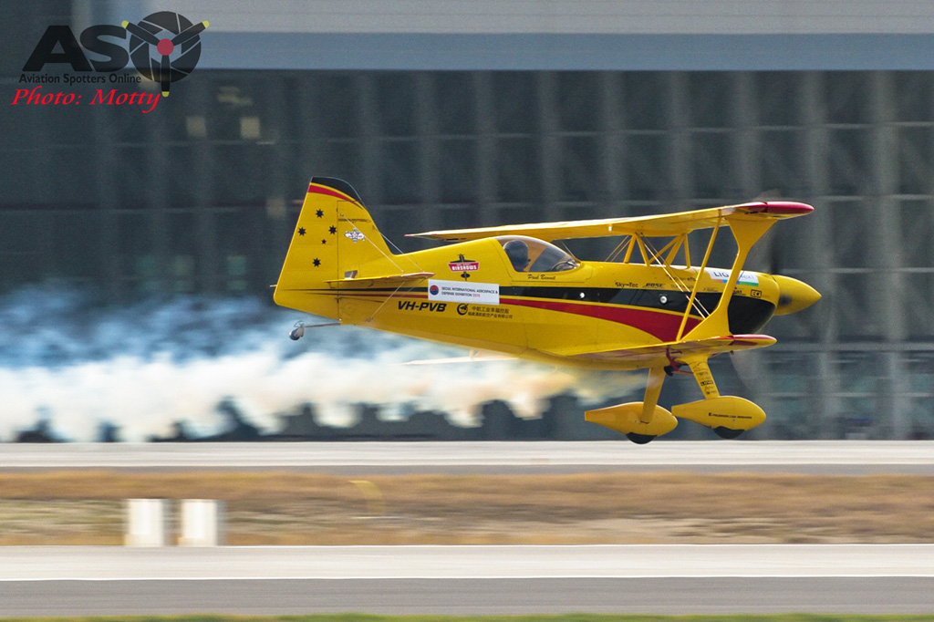 Mottys Paul Bennet Airshows Wolf Pitts Pro VH-PVB Korea ADEX 2015 059