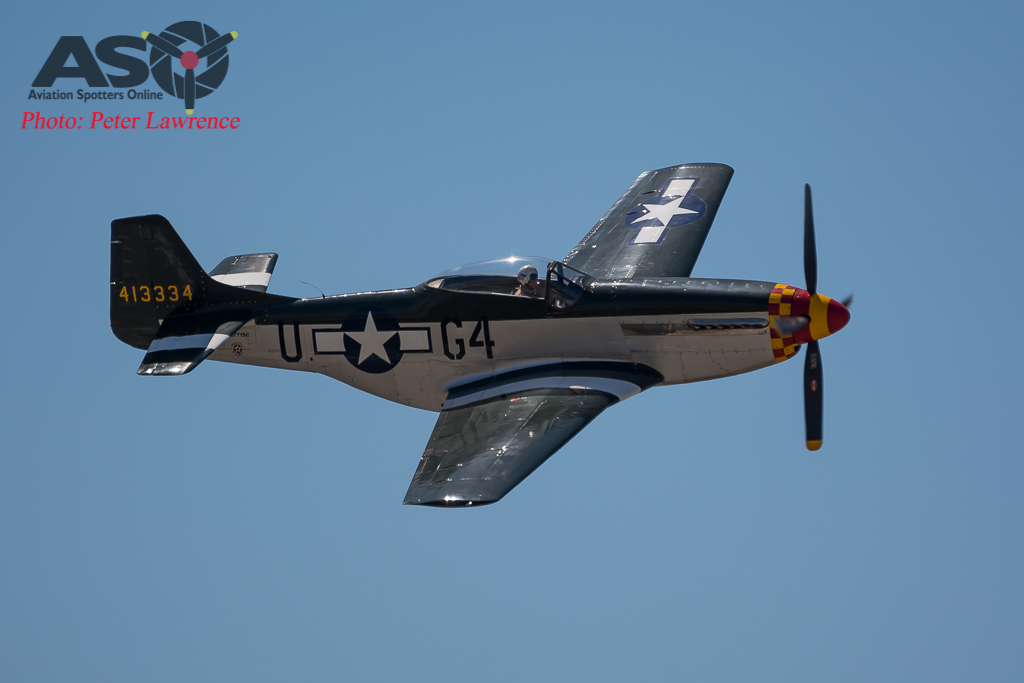 The mighty P-51D Mustang