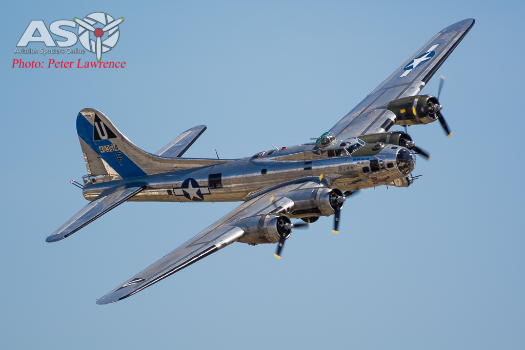 1 of 2 glorious B-17's