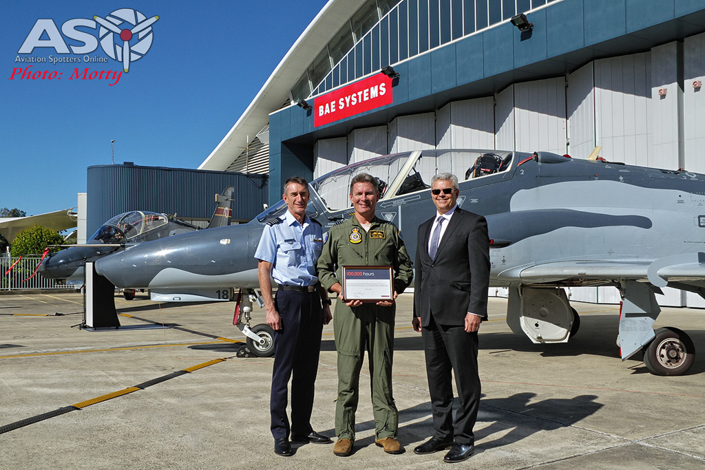 RAAF BAE SYSTEMS HAWK 127 100,000 hours Williamtown 03