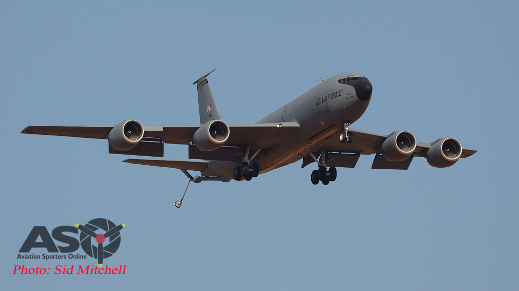 USAF KC-135R Stratotanker from 186th Air Refuelling Wing, Mississippi