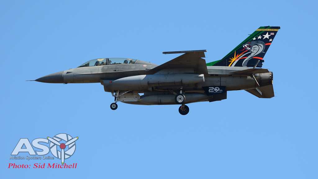 Royal Thai Air Force F-16D , 403 SQN