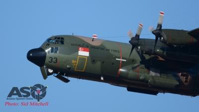 RSAF C-130H 733 of 122 Sqn, Paya Lebar, Singapore