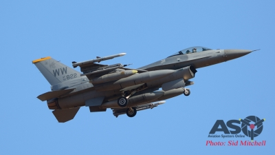 "USAF F-16C of 14th Tactical Fighter Sqn,""Samurai's"""