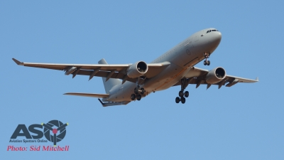 RAAF KC-30A - refueller for USAF F-16 aircraft in transit from Japan to Darwin