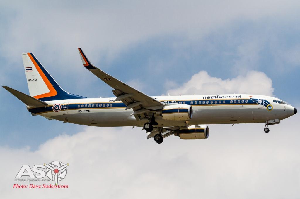 55-555 RTAF Boeing 737-800 ASO (1 of 1)