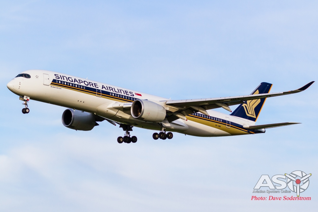 9V-SMA Singapore Airlines Airbus A350-900 ASO (1 of 1)